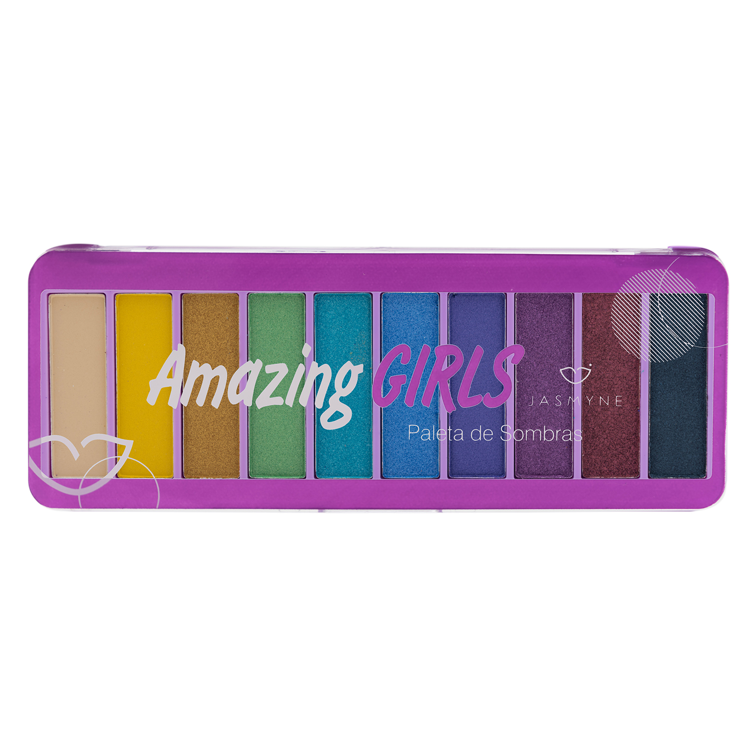 Paleta de Sombras Amazing Girls